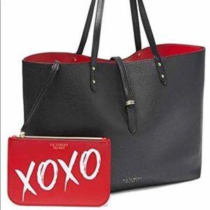 Victoria's Secret Valentine tote plus makeup bag